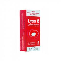 LYSO 6 30 COMPRIMES PIERRE FABRE ORAL CARE
