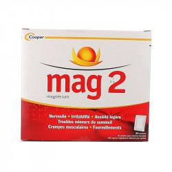 MAG 2 MAGNESIUM 30 SACHETS COOPER