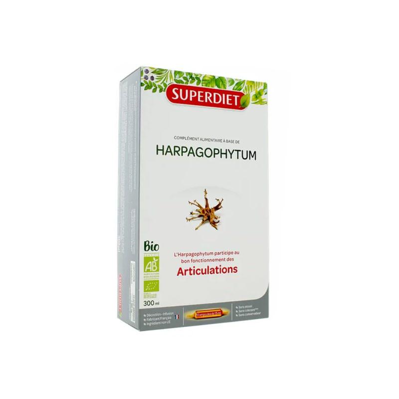 ARTICULATIONS HARPAGOPHYTUM BIO 20 AMPOULES SUPERDIET