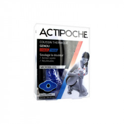 ACTIPOCHE COUSSIN THERMIQUE MICROBILLES GENOU COOPER