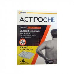 ACTIPOCHE PATCHS CHAUFFANTS X4 COOPER