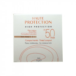 HAUTE PROTECTION COMPACT TEINTÉ DORÉ HONEY SPF50 10G AVENE
