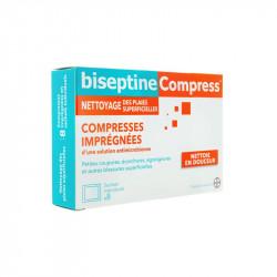 BISEPTINE COMPRESS 8 SACHETS BAYER