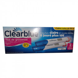 TEST DE GROSSESSE DETECTION ULTRA PRECOCE X2 CLEARBLUE