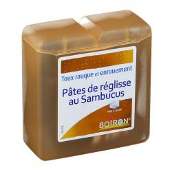 PÂTE DE REGLISSE AU SAMBUCUS 70G HOMÉOPATHIE BOIRON