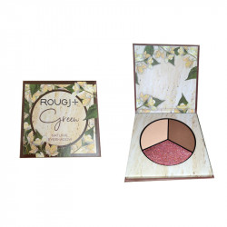 GREEN OMBRE A PAUPIERES NATURAL EYESHADOW  6 G ROUGJ+