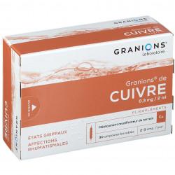 GRANIONS DE CUIVRE 0,3 mg/2 ml, solution buvable