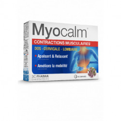 MYOCALM CONTRACTIONS MUSCULAIRES 30 COMPRIMES 3C PHARMA