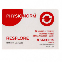 PHYSIONORM RESFLORE 8 SACHETS IMMUBIO