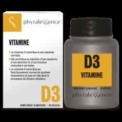 VITAMINE D3 60 GELULES PHYTALESSENCE