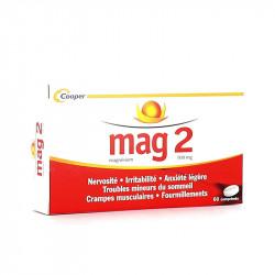 MAG 2 MAGNESIUM 100MG X60 COOPER