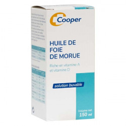 HUILE DE FOIE DE MORUE 150ML COOPER