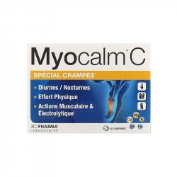 MYOCALM C SPECIAL CRAMPES 30 COMPRIMES 3C PHARMA