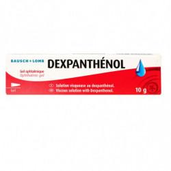 DEXPANTHENOL GEL OPHTALMIQUE 10G BAUSCH&LOMB