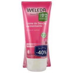 CREME DOUCHE A LA ROSE 2 x 200 ml WELEDA