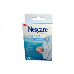 PANSEMENTS FORTE ADHERENCE X20 NEXCARE
