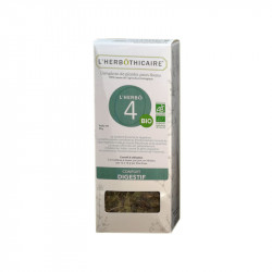 TISANE COMPLEXE L' HERBO 4 BIO 50G L HERBOTHICAIRE