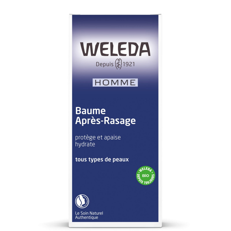 BAUME APRES RASAGE HOMME 100ML WELEDA