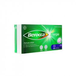 BEROCCA ENERGIE 30 COMPRIMES EFFERVESCENTS GOÛT CASSIS BAYER