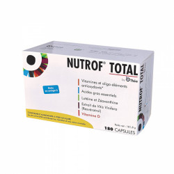NUTROF TOTAL COMPLEMENT ALIMENTAIRE A VISEE OCULAIRE 180 capsules THEA