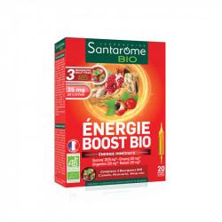 ENERGIE BOOST BIO 20 AMPOULES SANTAROME BIO
