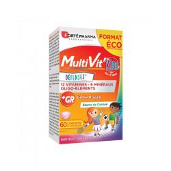 MULTIVIT' KIDS DEFENSES 60 COMPRIMES FORTE PHARMA