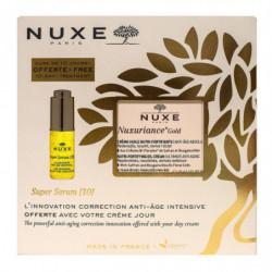 COFFRET NUXURIANCE GOLD CREME-HUILE NUTRI FORTIFIANTE 50ML+SUPER SERUM [10] 5ML OFFERT