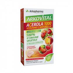 ARKOVITAL ACEROLA 1000 X 30 COMPRIMES A CROQUER ARKOPHARMA