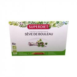 SEVE DE BOULEAU BIO 20 AMPOULES SUPERDIET