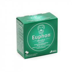 EUPHON MENTHOL GORGE ENROUEMENT 70 PASTILLES MAYOLY SPINDLER