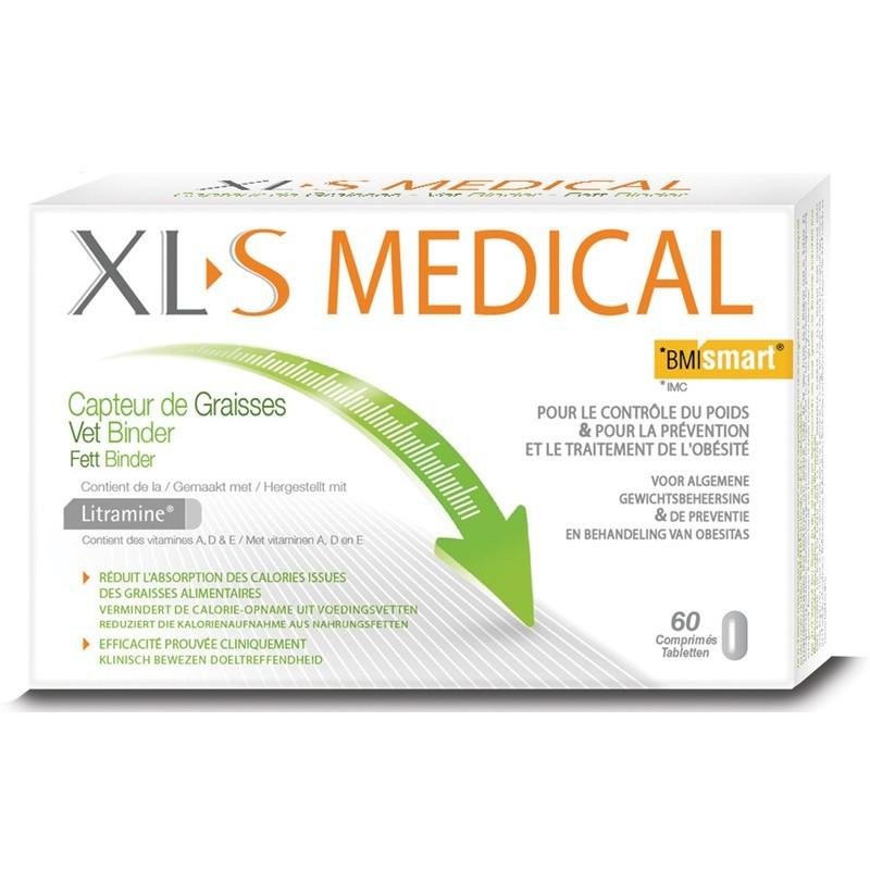 CAPTEUR DE GRAISSES XLS MEDICAL 60 COMPRIMES
