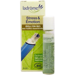 ROLL'ON BIO aux huiles essentielles STRESS ET EMOTIONS 5 ml LADROME