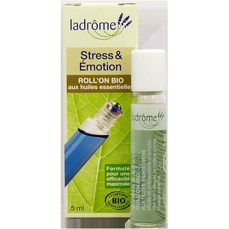 ROLL'ON BIO aux huiles essentielles STRESS ET EMOTIONS 5 ml LADROME