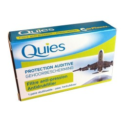 PROTECTION AUDITIVE FILTRE ANTI PRESSION Ear Planes QUIES