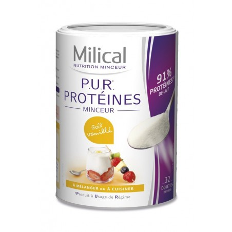 PUR PROTEINES VANILLE MILICAL