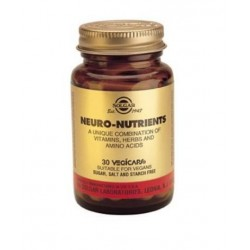 NEURO NUTRIENTS 30 GELULES SOLGAR