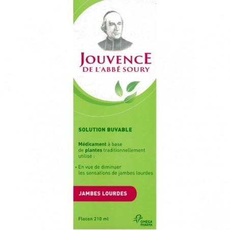 JOUVENCE DE L'ABBE SOURY SOLUTION BUVABLE OMEGA PHARMA