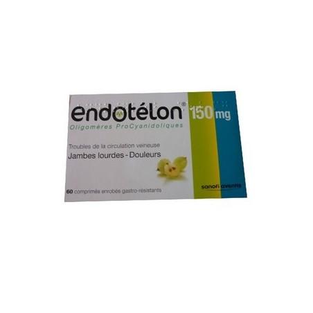 ENDOTELON JAMBES LOURDES 60 COMPRIMES SANOFI