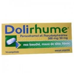 DOLIRHUME COMPRIMES SANOFI