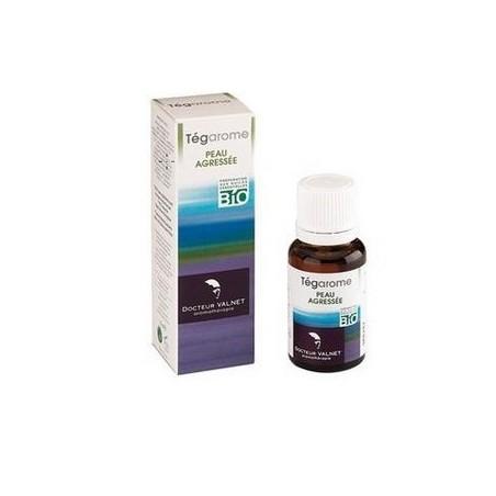 TEGAROME PEAU AGRESSEE BIO 15 ML DOCTEUR VALNET