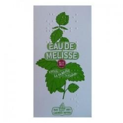 EAU DE MELISSE 100% NATURELLE FLACON POCHE 4 CL