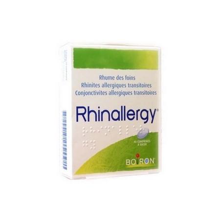 RHINALLERGY 40 COMPRIMES BOIRON
