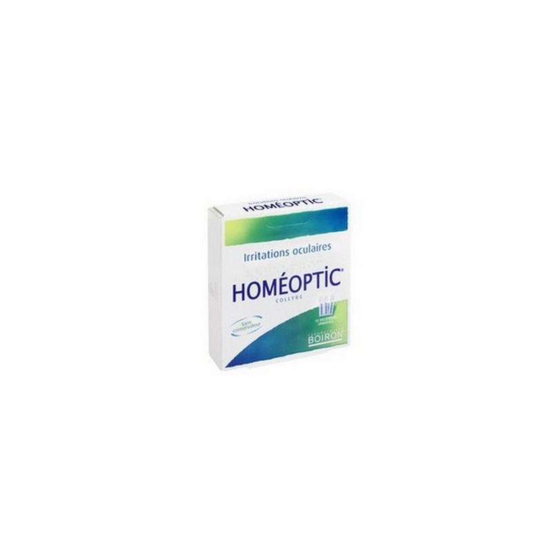 HOMEOPTIC 10 RECIPIENTS UNIDOSES BOIRON