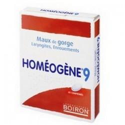 HOMEOGENE 9 60 COMPRIMES BOIRON