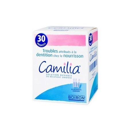 CAMILIA RECIPIENTS 30 UNIDOSES BOIRON