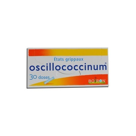 OSCILLOCOCCINUM ETATS GRIPPAUX 30 DOSES BOIRON