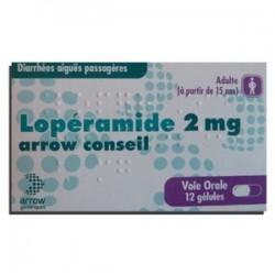 LOPERAMIDE 2 MG ARROW GENERIQUES