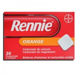 RENNIE ORANGE 36 COMPRIMES BAYER