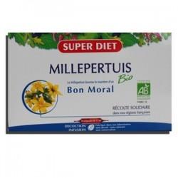MILLEPERTUIS BIO BON MORAL AMPOULES SUPER DIET