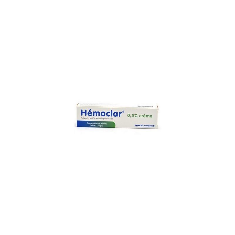 HEMOCLAR 0.5% CREME SANOFI